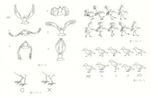 鸟飞运动规律