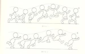 动画制作中跑的运动规律