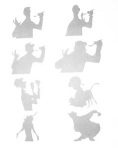 动画制作中的轮廓的表现